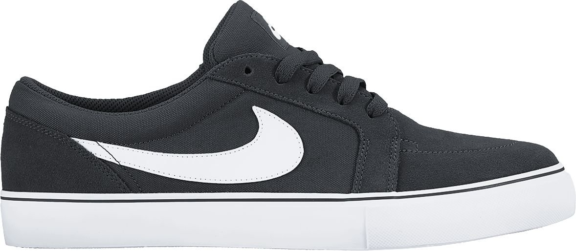 Nike Herren SB Satire Ii Low-Top  46 EU|Negro / Blanco (Black/White)