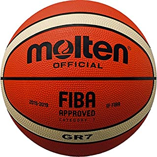 Molten BGR-oi Mark 2 Basketball – Tan, Taille 5