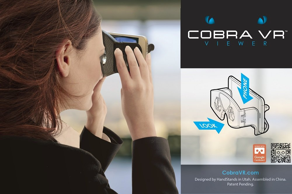 9b3108a359a4 Amazon.com  HandStands Made2Go Cobra VR Virtual Reality Viewer  Home Audio    Theater