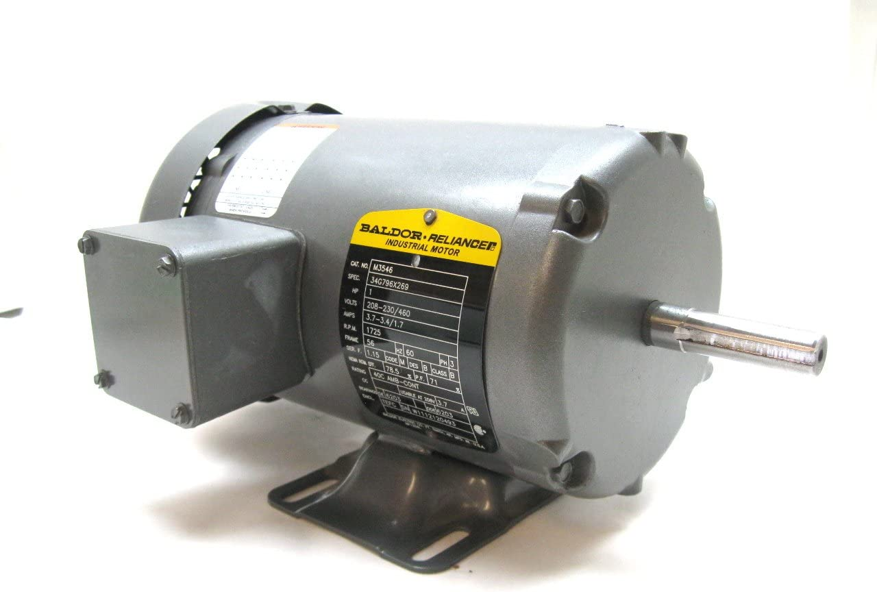 Baldor Electric M3546 1 Hp 3 Phase 1725 Rpmmotor