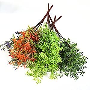 FYYDNZA Mini Dwarf Pearl Grass Water Aquatic Plant Moss Aquarium Grass Artificial Flowers 2