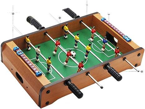 ZXC Mesa de fútbol de Interior Juego de Futbol para Adultos Sala para niños Mesa de Deportes día del niño Juguetes: Amazon.es: Deportes y aire libre