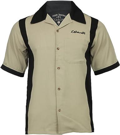 El gran Lebowski - para hombre realizadores camiseta de fútbol para hombre de bolos para hombre: Amazon.es: Ropa y accesorios
