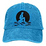 Have You Shop The Little Mermaid Trend Printing Cowboy Hat Fashion Baseball Cap for Men and Women Black