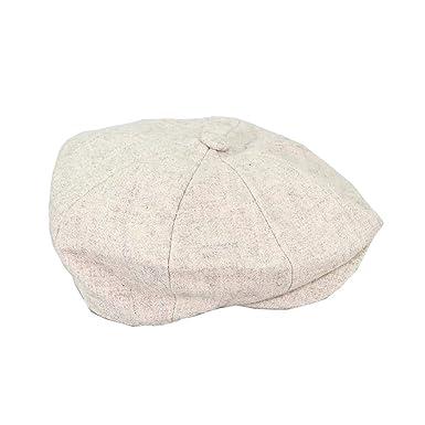 55c3c187 House of Cavani Mens Newsboy Tweed Cap Peaky Blinders Baker Boy Flat  Grandad Hat: Amazon.co.uk: Clothing