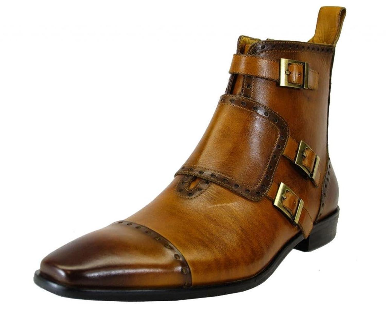 Carrucci Men's Buckle Boot-KB201915
