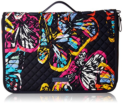 Vera Bradley Iconic Ultimate Jewelry Organizer, Signature Cotton, Butterfly Flutter