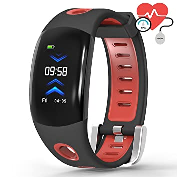 OOLIFENG IP68 Impermeable Pulsera Actividad Deporte Fitness ...