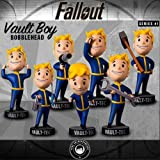 "Fallout 4 5"" Vault Boy Bobblehead Figure Complete Series 1 7-Pack Set"