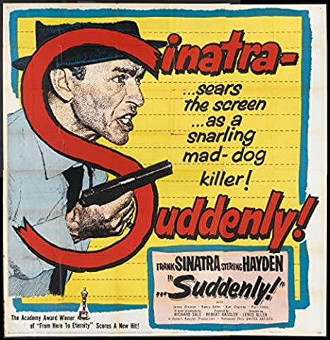 Suddenly (1954) Original Movie Poster at Amazon's Entertainment ...