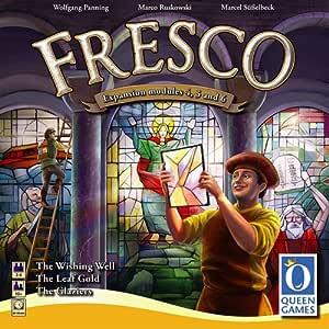 Queen Games Fresco - Módulos de expansión 4, 5 y 6 para juego de mesa: Amazon.es: Juguetes y juegos