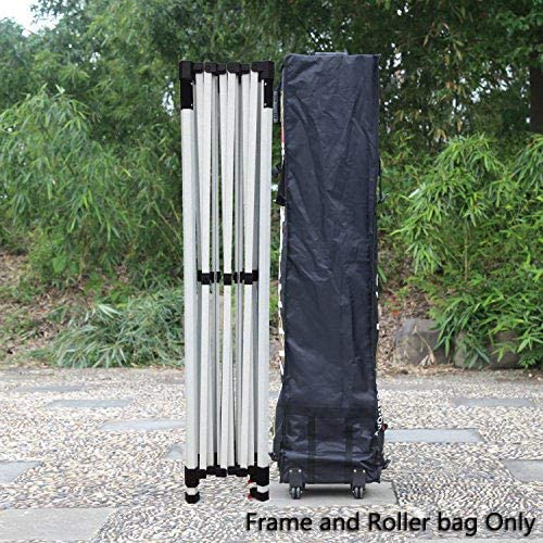 ABCCANOPY Professional 10×15 Pop up Canopy Frame and Roller Bag Only