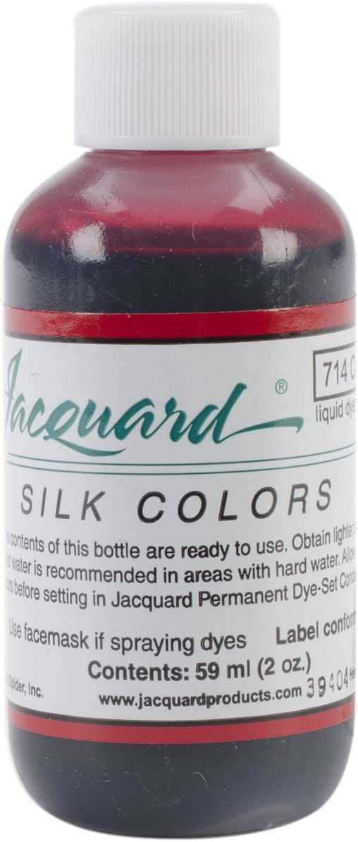 Jacquard Products Silk Colors Dyes, 2-Ounce, Carmine Red