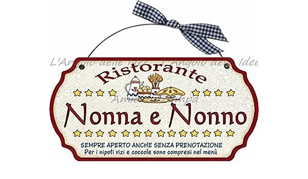 Placa decorativa moldeada restaurante abuela abuelo.. Casa ...