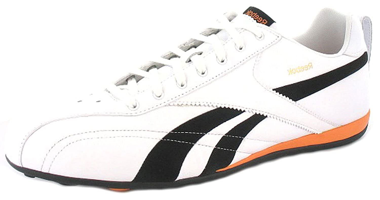Mens Gents White Reebok Leather Non-Marking Sole Trainers - White Black -  UK 15  Amazon.co.uk  Shoes   Bags 3919454671fa