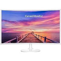 Monitor 31.5 Pol Full Hd Led Curvo Hdmi Branco Lc32f391fwlxzd Samsung
