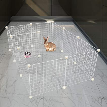 Amazon.com: EXPAWLORER Puppy Playpen Indoor for Small ...