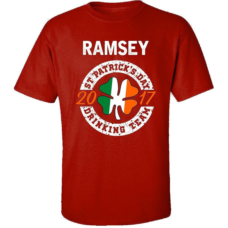 Ramsey St Patricks Day 2017 Drinking Team Irish - Adult Shirt