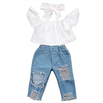 Conjunto de ropa para niñas de 0 a 5 años, con estampado ...