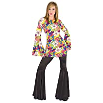 Funny Fashion Black Disco Hippie Pants