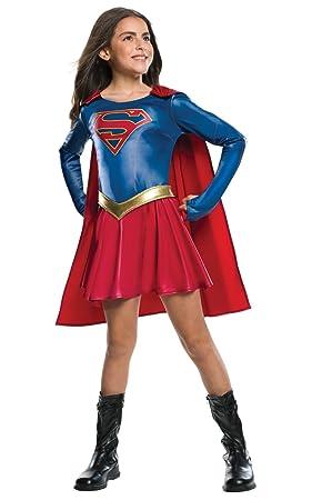 d6539233791ef Rubie s Costume de Supergirl Officiel pour Enfant