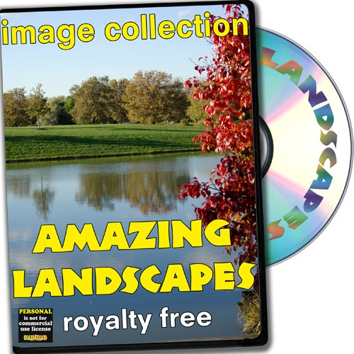 Amazing Landscapes, Royalty Free Image Collection, Personal License ()