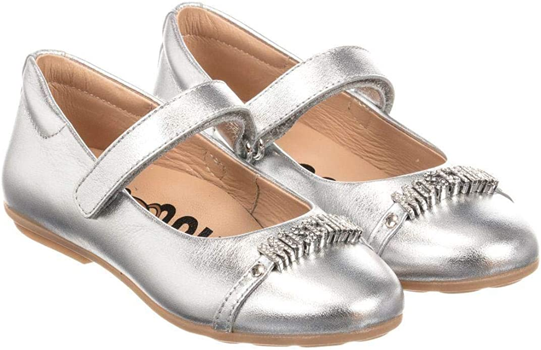 MOSCHINO Kid-Teen Girls Leather Shoes
