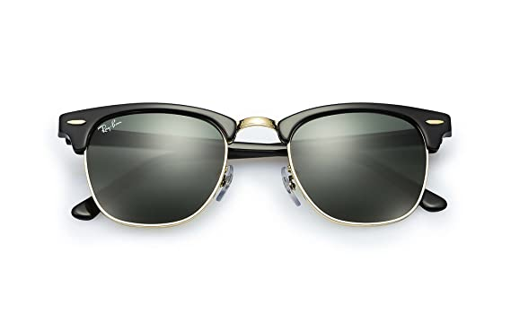 33123c6f1c35d6 Amazon.com  Ray Ban Sunglasses Clubmaster 3016 (49 mm