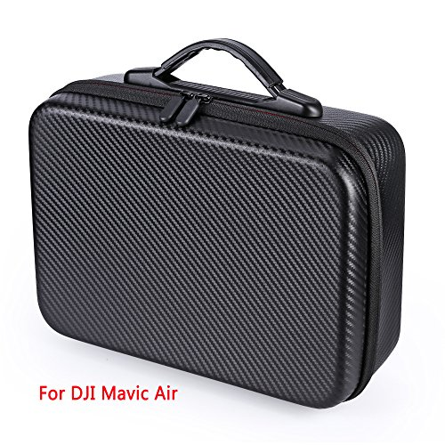 Oumers Waterproof Carrying Case Portable Hard shell Bag Suitcase for DJI Mavic Air Drone and Mavic Air Accessories