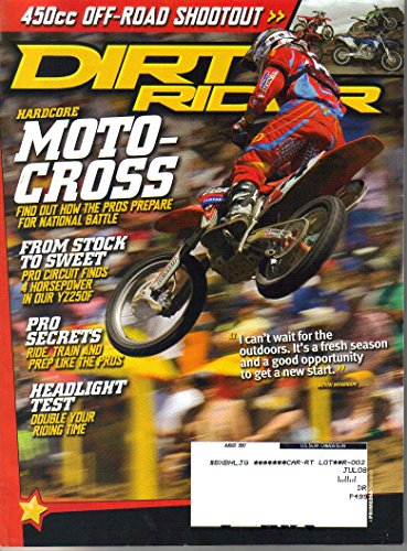 Dirt Rider Magazine, Issue 296 (August, 2007)