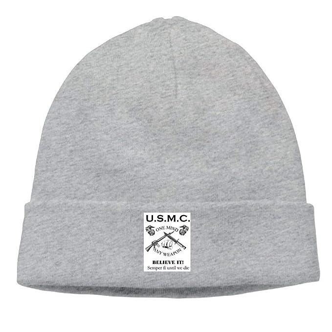 nordic runes USMC Marine Corps Beanie Hat Winter Warm Knit Skull Cap for  Mens Womens at Amazon Men s Clothing store  01bb218aeaf