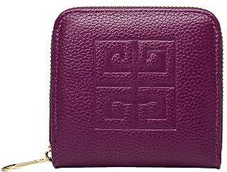 Motif Mode Femmes Mini Slim Wallet Portefeuilles utiles Petite Purse, E Blancho Bedding