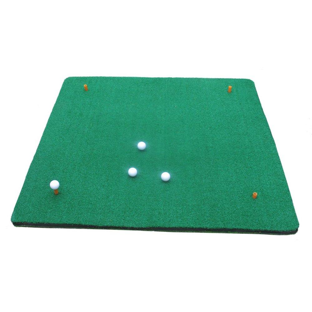 Zfggd両面ゴルフ練習マット屋内オフィス-100 cm * 120 cm B07MLFYPNK