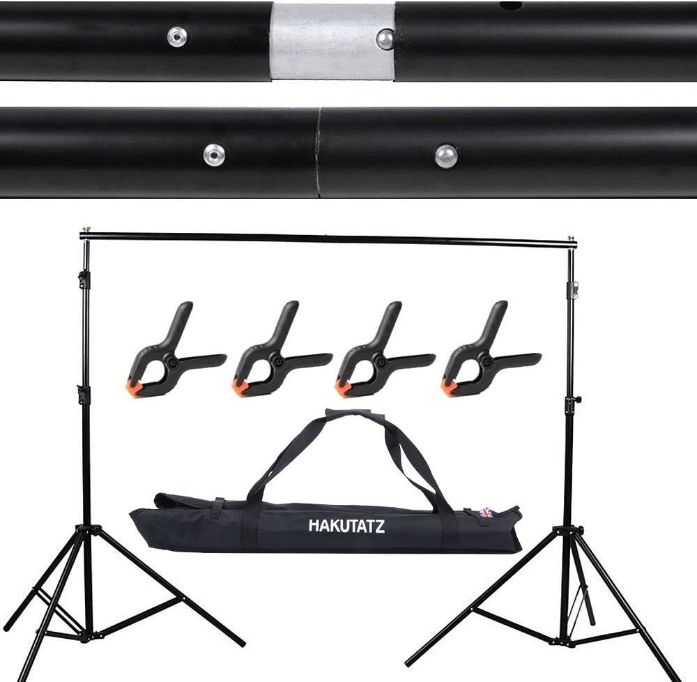 Foto Video Studio 2 6m X 3m Justierbare Hintergrund Ständer Kulisse Support System Kit Mit Tragetasche