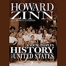 A Young People's History of the United States Audiobook by Rebecca Stefoff, Howard Zinn Narrated by Jeff Zinn