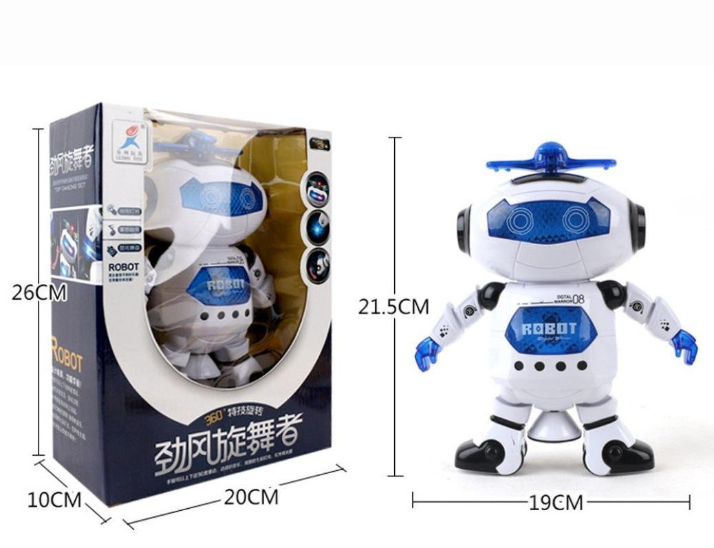 UKnows Smart Space Robot Electronic Walking Dancing Astronaut Kids Music Light Toys by UKnows (Image #6)