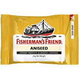 Fisherman's Friend Aniseed, Menthol and Aniseed Lozenges, 25 g, Aniseed