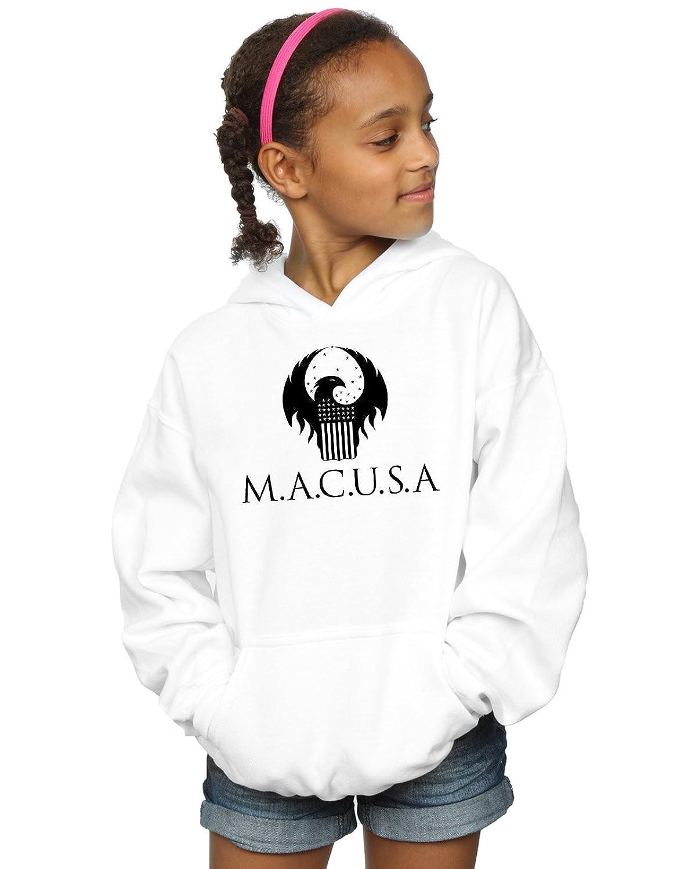 Absolute Cult Fantastic Beasts Fille MACUSA Logo Sweat À Capuche