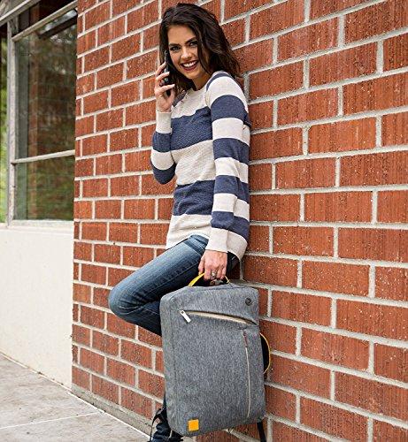 Travel Laptop Bag Messenger Bag Tablet Sleeve Shoulder Bag 15.6 Inch for HP Envy, 15z, Omen, ProBook, EliteBook, Zbook, Spectre x360, Gray