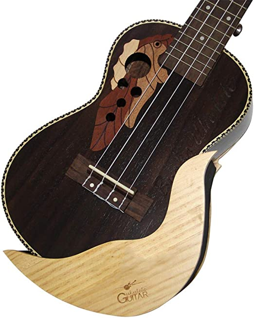 YUSDP Soporte para Montaje en Pared de Ukelele/Guitarra - Diseño ...