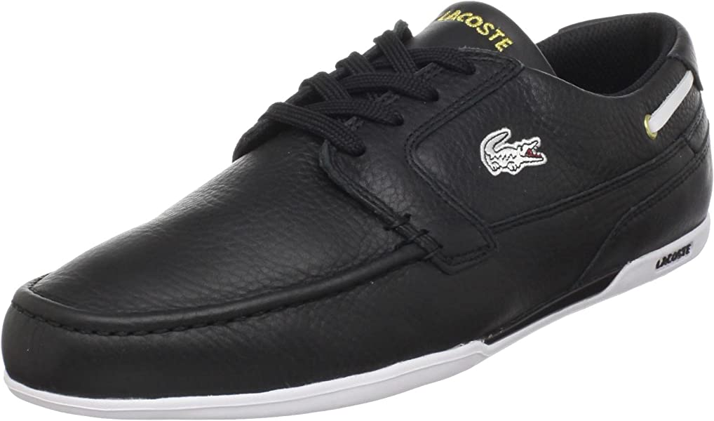 9e9ddeab5 Lacoste Dreyfus (Men) Fashion Sneaker Black Gold 7 M US