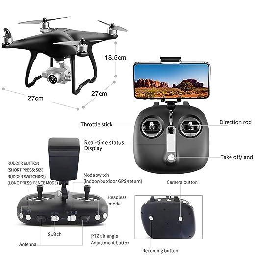 Lily Dron aéreo de cámara 4K HD, Aterrizaje de un Toque/despegue ...