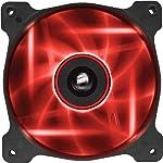 Corsair SP120 LED Ventilador para Gabinete, Color Rojo