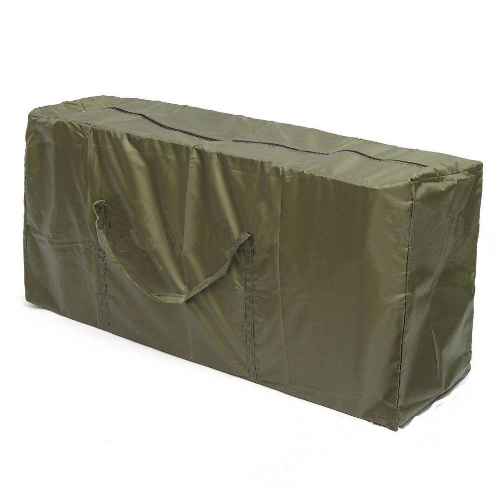Cheng Yi Waterproof Patio Outdoor Garden Furniture Cushion Storage Bag Heavy Duty 210DD Oxford Fabric Cushion Pouch With Lifetime Quality Warranty(CYSND01) (M:116 * 47 * 51CM/45.7 * 18.5 * 20 inch)