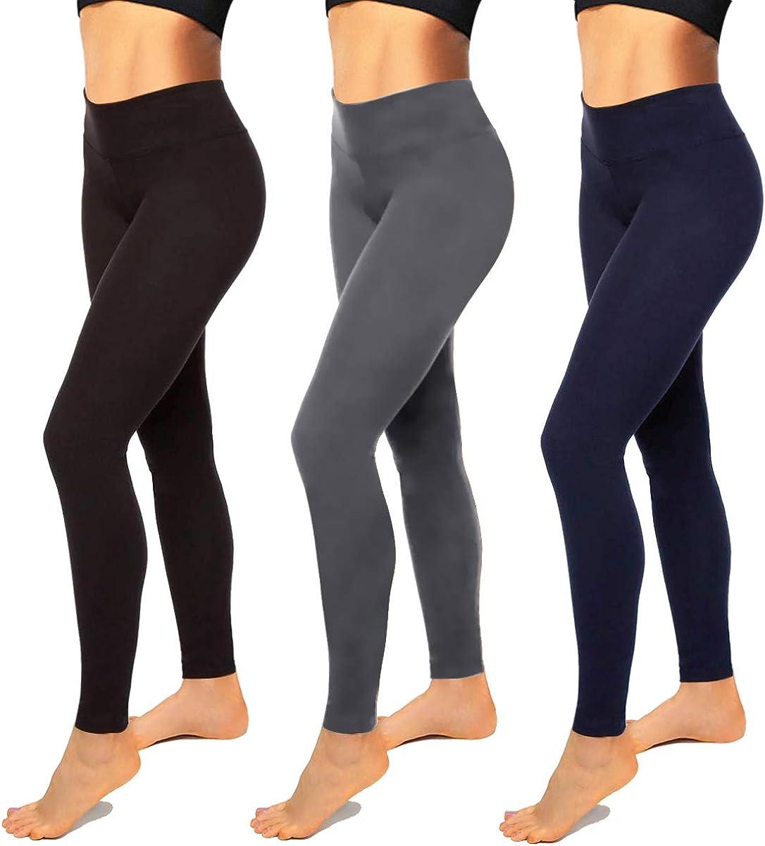 Womens Leggings-High Waisted Black Leggings for Women-Premium Jeggings for Workout, Yoga