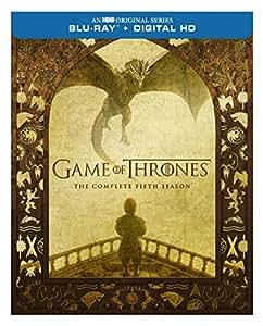 Game Of Thrones Season 5 Blu Ray Digital Copy Peter Dinklage Lena Headey Kit