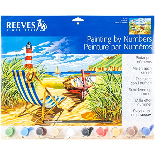 reeves paint by number - 7