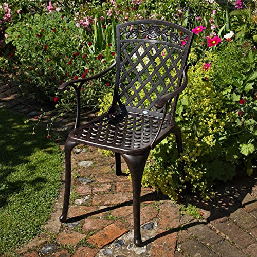 Garden Seater Susan ANNA Table 80cm Round 4 Lazy OXiPlZwkuT