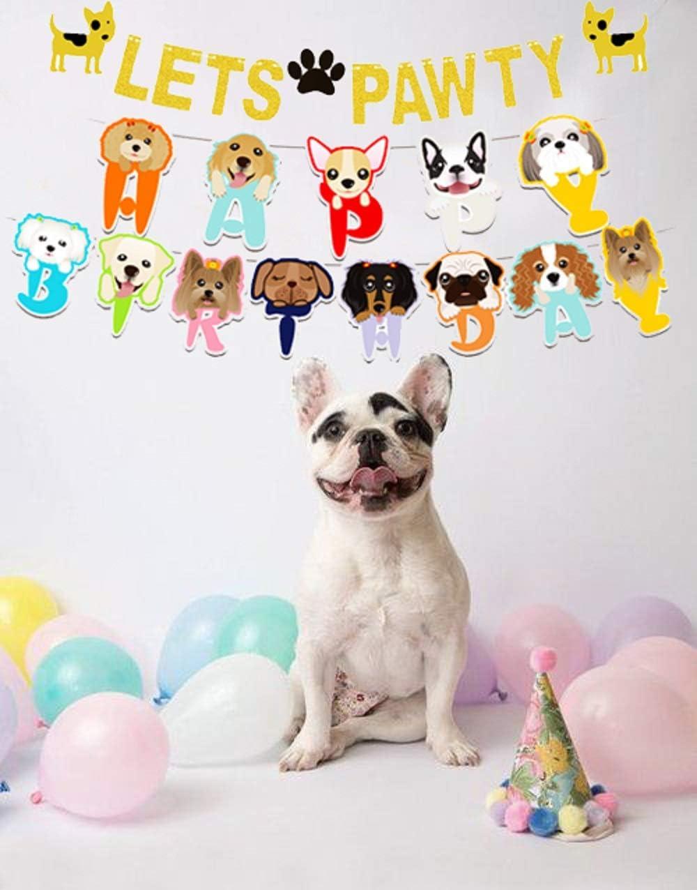Amazon.com: LaVenty - Juego de 2 carteles de cumpleaños con ...
