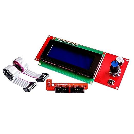 Redrex 2004 LCD Módulo de Visualización Inteligente con Adaptador ...